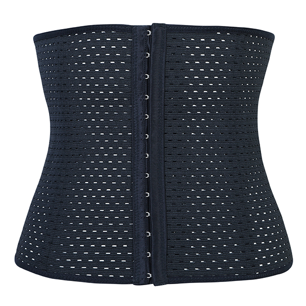Women Plus Size Hollow Out Breathable Shaper Waist Training Slimming Underbust Corset