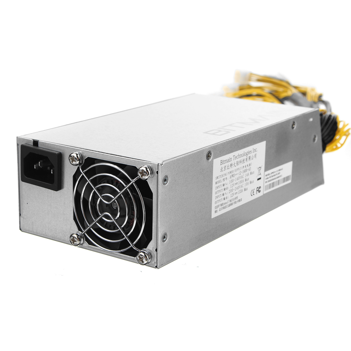 Cases & Towers - Antminer APW3++ PSU 1600W Power Supply for ...