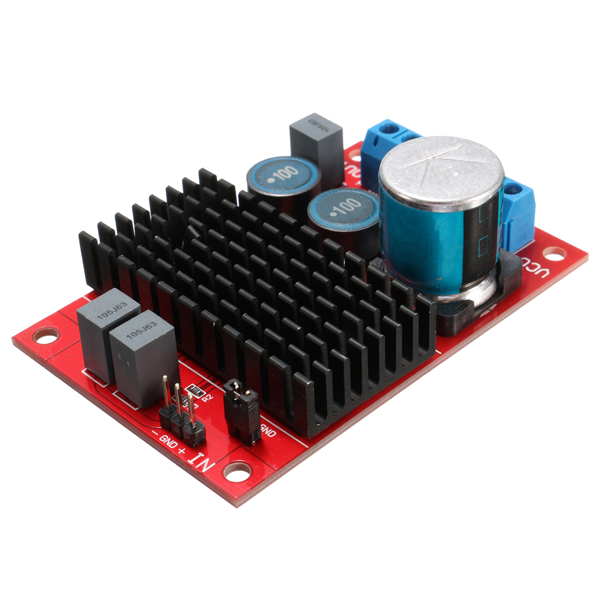 Buy DC 12V-24V 100W BTL Out TPA3116 Mono Channel Digital Power Audio Amplifier Board