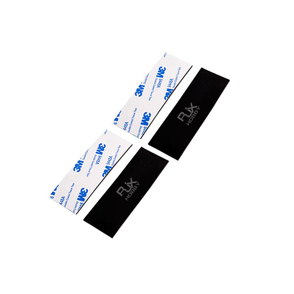 RJXHOBBY 4pcs FPV Silicon Anti-Slip Mat Battery Adhesive Tape for RC Multicopter FPV Racing Drone