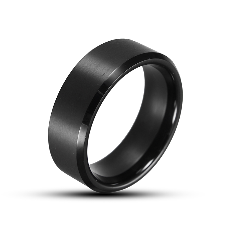 Simple Tungsten High Polished Ring