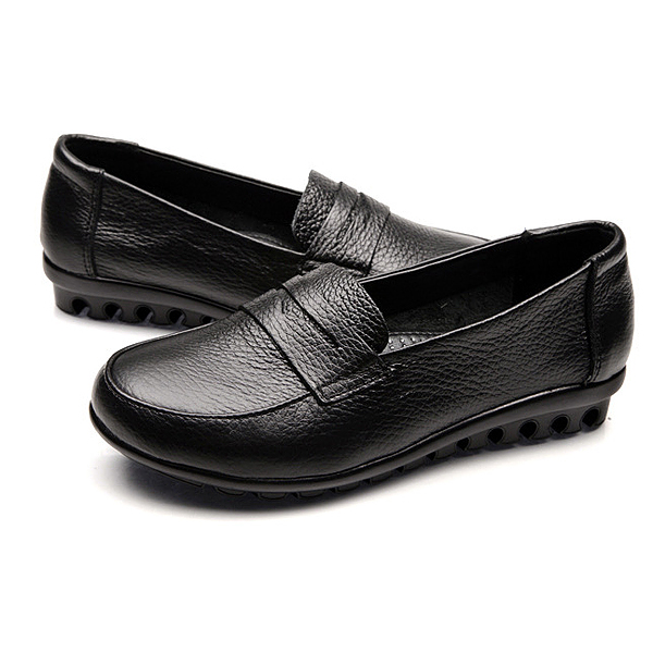 Women Fashion Casual Flat Moccasin Comfy Loafer Shoes Big Size
