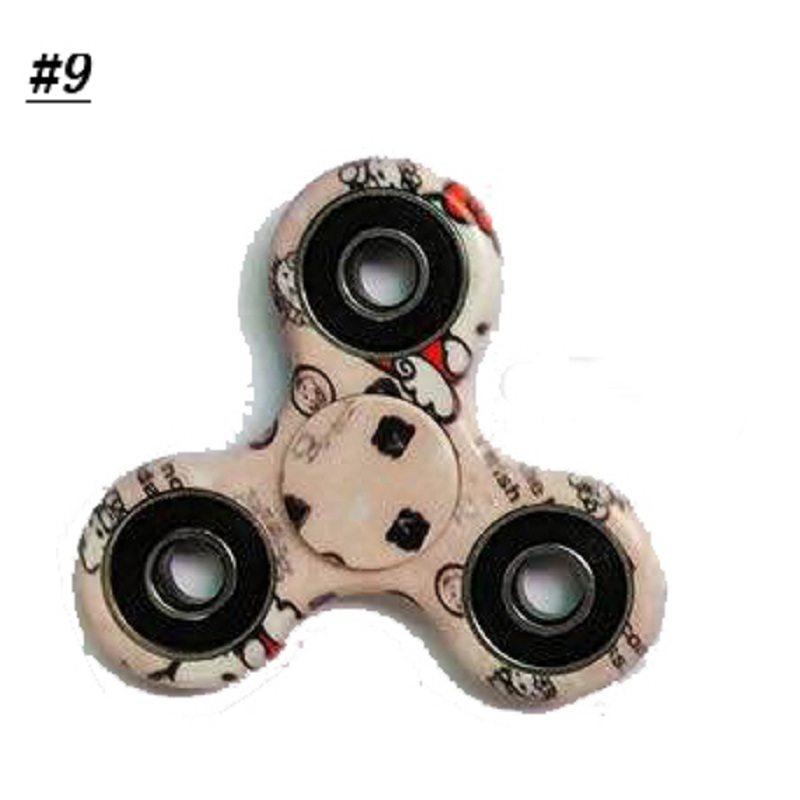 13 Species Colorful Rotating Fidget Hand Spinner ADHD Autism Fingertips Fingers Gyro Reduce Stress