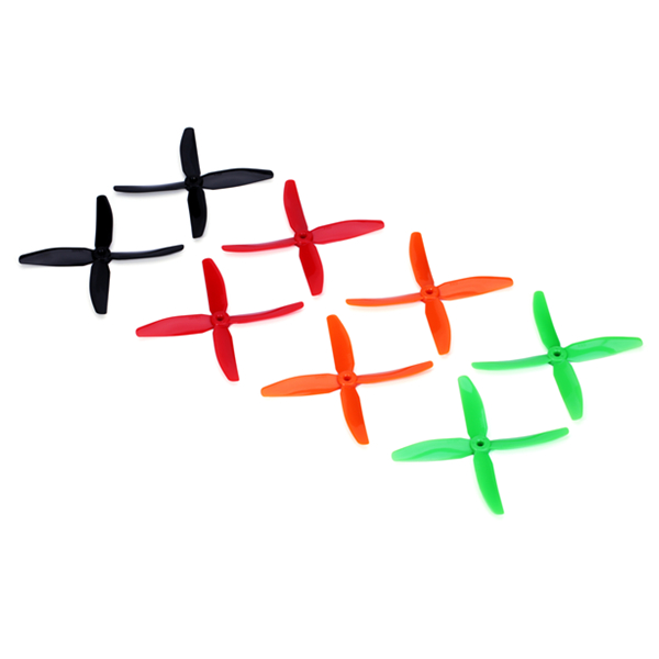 DYS X50404 5040 4 Blade PC Propeller CW/CCW For 200 250 280 320 RC Multirotors - Photo: 1