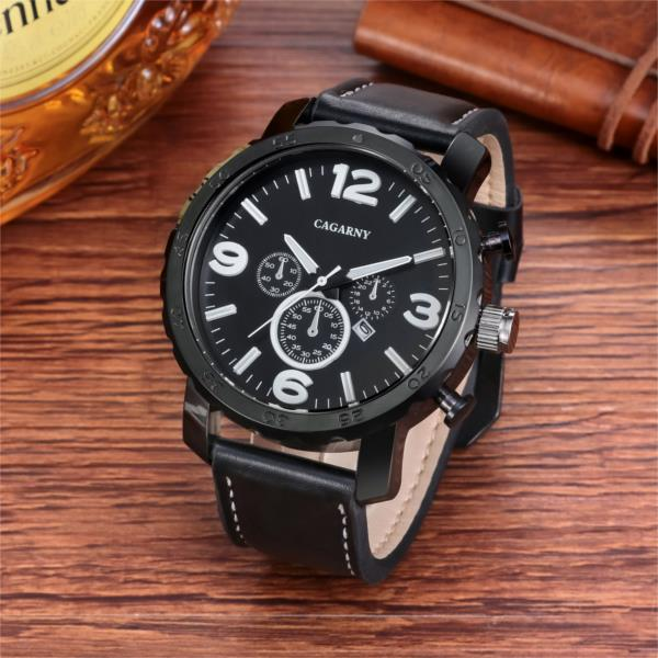 cagarny 6845 business men watch fashion men wrist watch simple cagarny 6845 business men watch fashion men wrist watch simple quartz watch