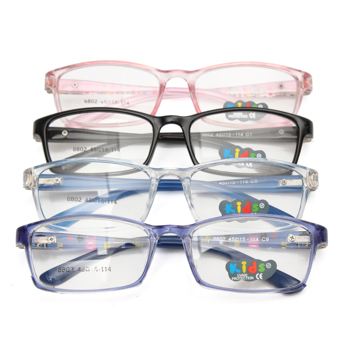 Child's Glasses Girl Boy Children Myopia Eyeglass Frame Optical Eyewear