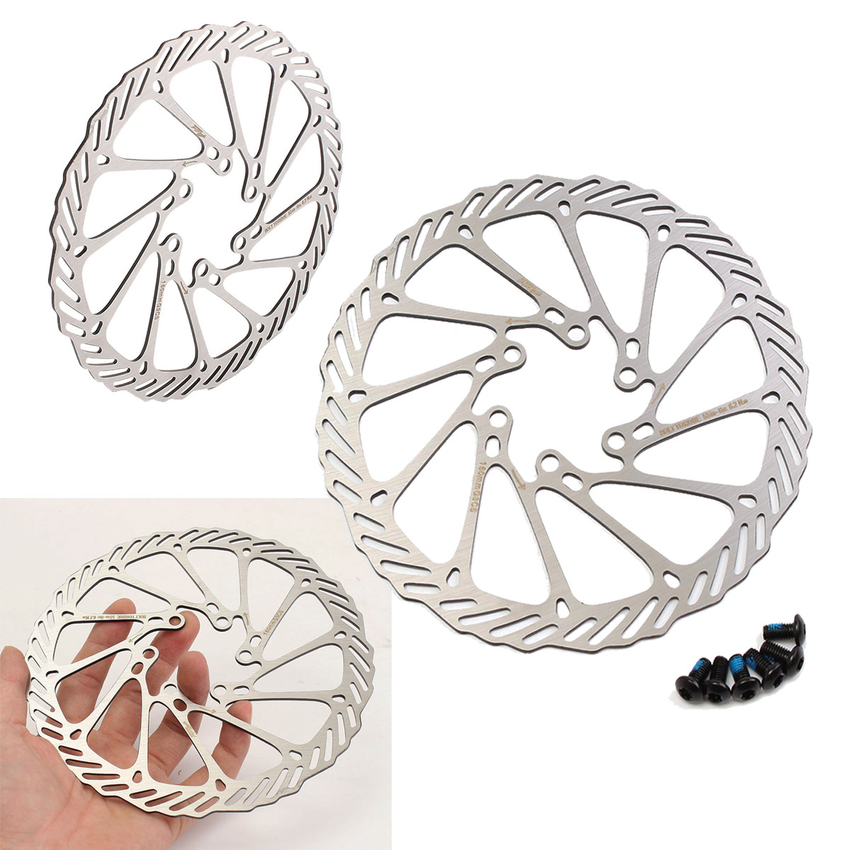 BIKIGHT Mechanical Disc Brake for Avid G3 CS Cleansweep Mountain Bicycle Rotor 160mm