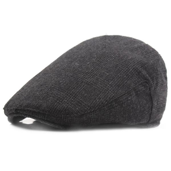 Buy Unisex Men Women Cotton Blend Beret Cap Solid Sport Outdoor Golf Gentleman Hat
