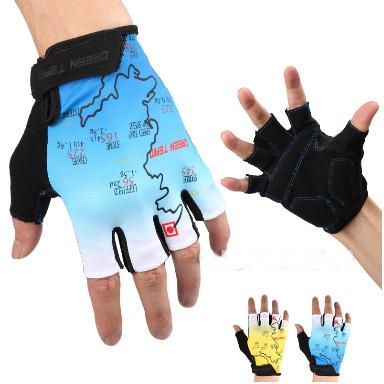 Mountain Cycling Gloves Half Finger Bike Motocross Spo