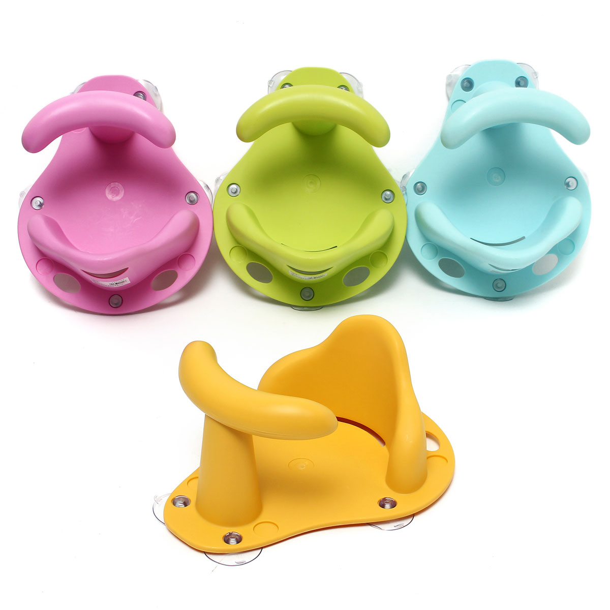 Baby Bath Ring Seat Infant Children Shower Toddler Kids Anti Slip ...