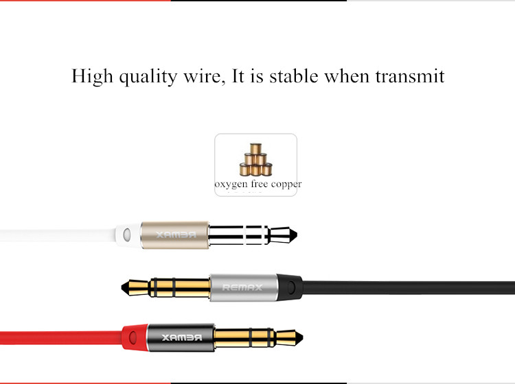 REMAX RM-L200 2M 3.5mm AUX Audio Cable Line