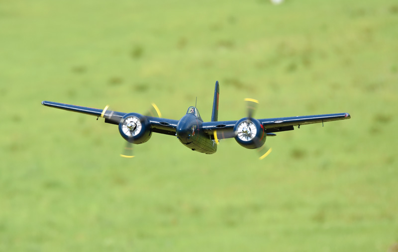 FMS 1700mm F7F Tigercat 1700mm Wingspan Blue RC Warbird PNP