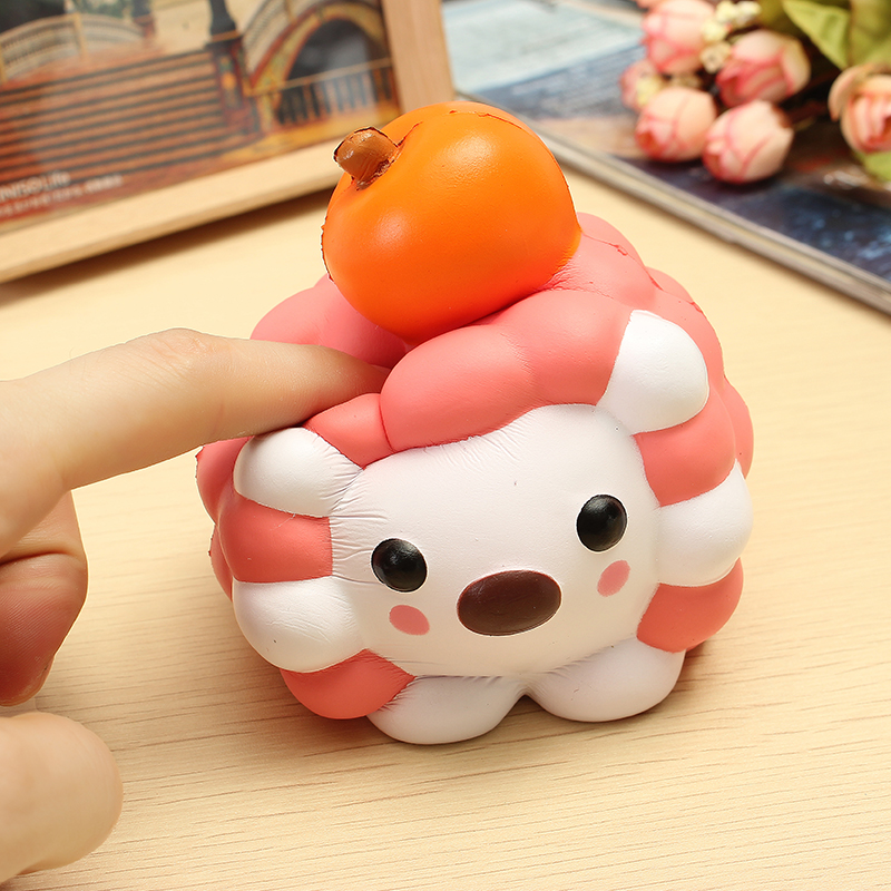 LeiLei Squishy Jumbo Hedgehog Slow Rising Original Packaging Cute Animal Collection Gift Decor ...