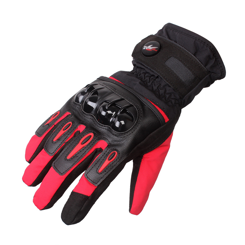 Touch Screen Full Finger Protective Motorcycle Racing Gloves Waterpoof Pro-Biker MTV-08