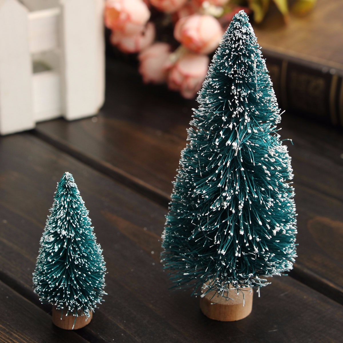 Mini Christmas Tree Home Wedding Decoration Supplies Ar