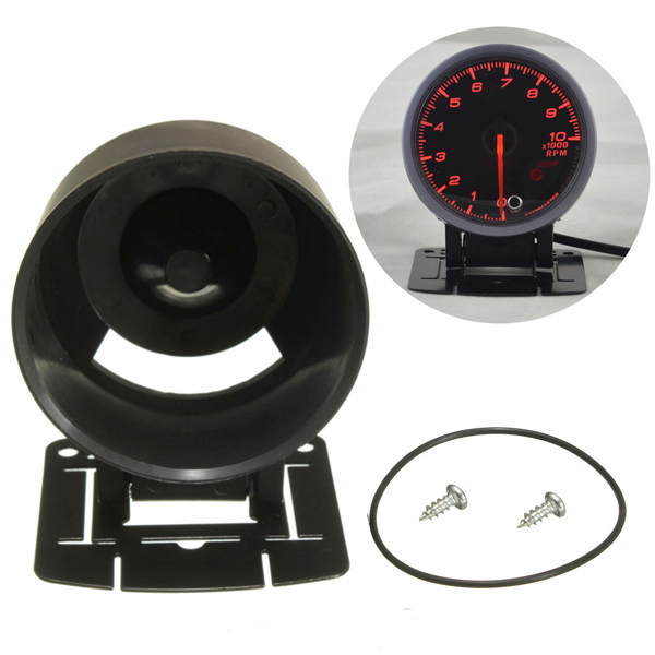 60mm 2.4 inch Universal Car Auto Defi Gauge Swivel Dashboard Cup Holder Mount Pod