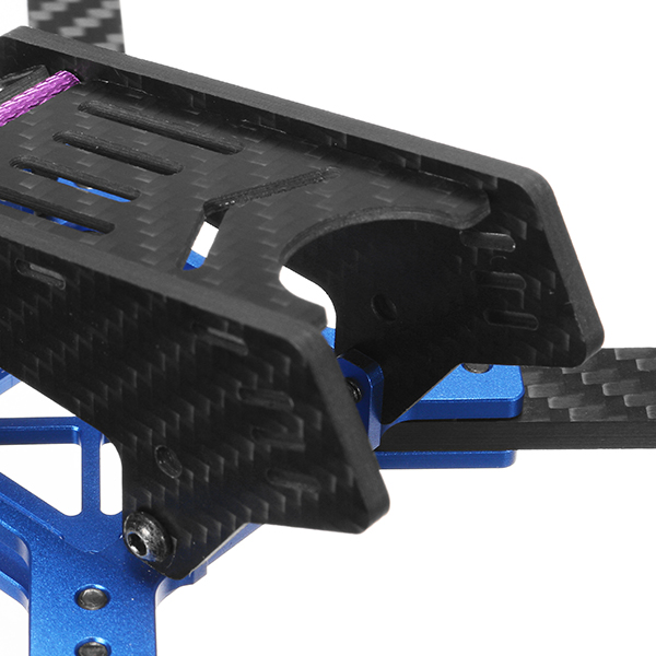 Realacc DKB220 220mm 5 Inch 4mm Arm Thickness Carbon Fiber Frame Kit