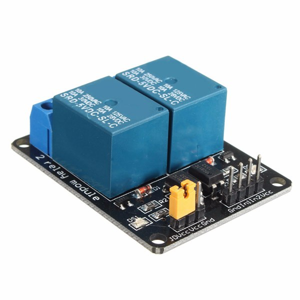 5V 2 Channel Relay Module Control Board With Optocouple