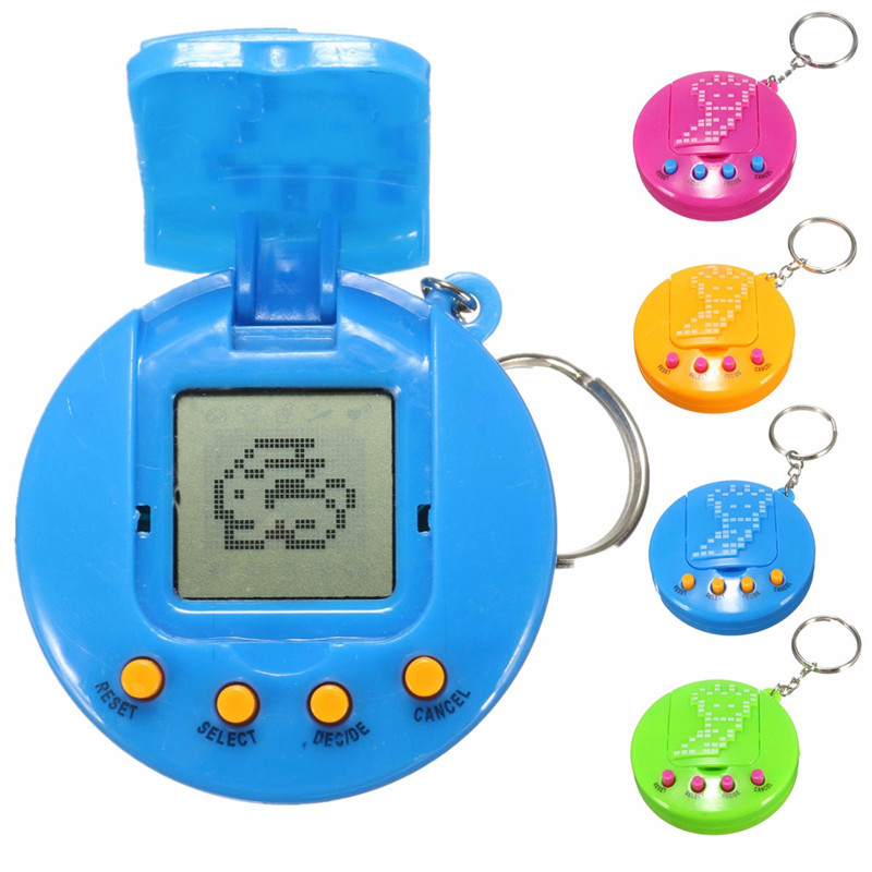 Retro Virtual 49 in 1 Cyber Pets Animals Toy Game Machine Kids Gift - Photo: 2