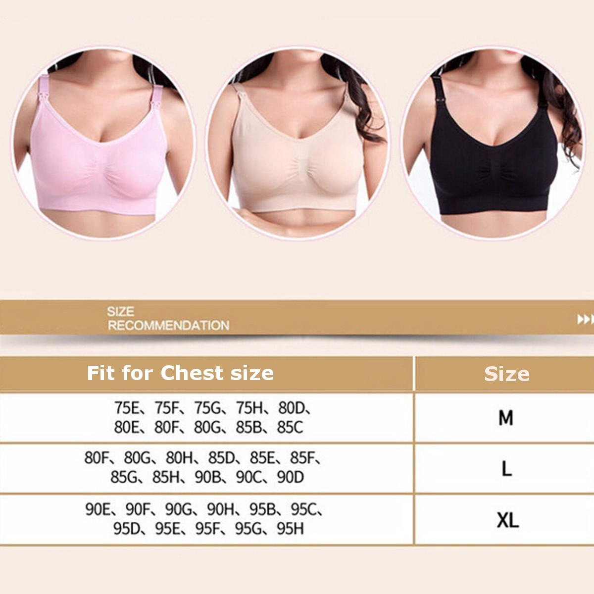Seamless Women Nursing Pregnant Maternity Bra Breast Baby Feeding Milk Cotton Clothes Underwear
