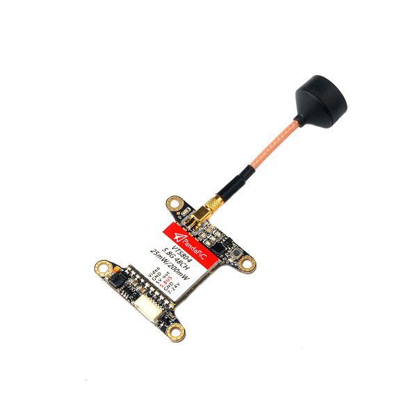 Realacc UXII 5.8G 1.6dBi MMCX-Straight/MMCX-90 Degree LHCP TX RX FPV Antenna