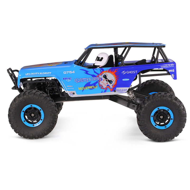 Wltoys 10428A 1/10 2.4G 4WD 30KM/h RC Racing Car 540 Brushed Motor Rock Climbing Truck Toys