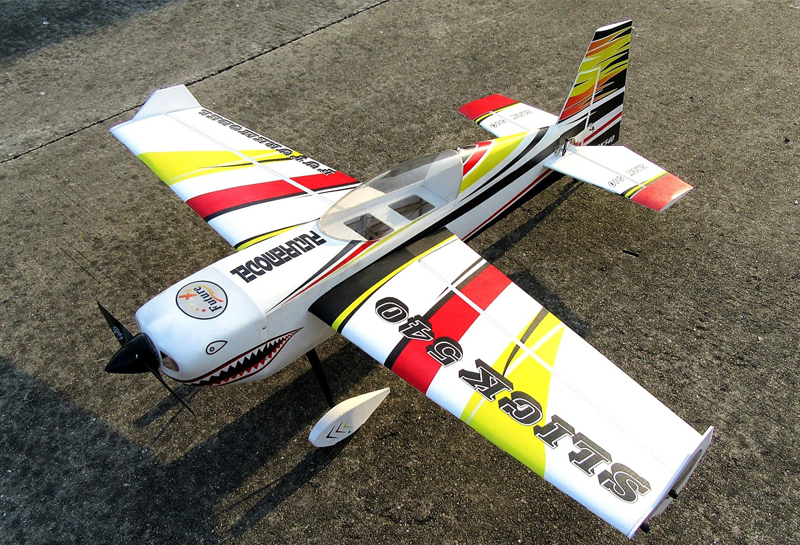 Slick 540 48inch 30E 01A PP 1230mm Wingspan 3D Aerobatic RC Airplane Kit