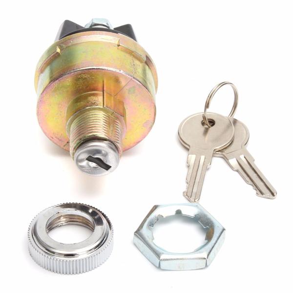 Universal Ignition Cylinder Switch Lock + 2 Keys KS6180