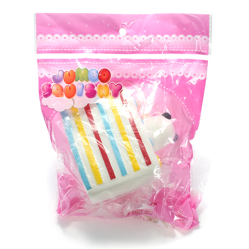 Squishy Cake Slice : Squishy Panda Cake Slice 10cm Soft Slow Rising 8s With Packaging Collection Gift Decor Toy Sale ...