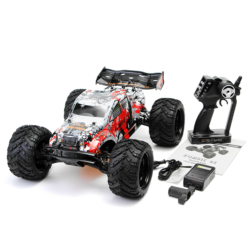 DHK Hobby Zombie 8E 8384 1/8 100A 4WD Brushless Monster Truck RTR RC Car - Photo: 1