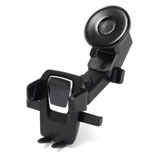 Car Phone Holder Dashboard Sucker Mount Cradle Extensible for 57mm-89mm Devices
