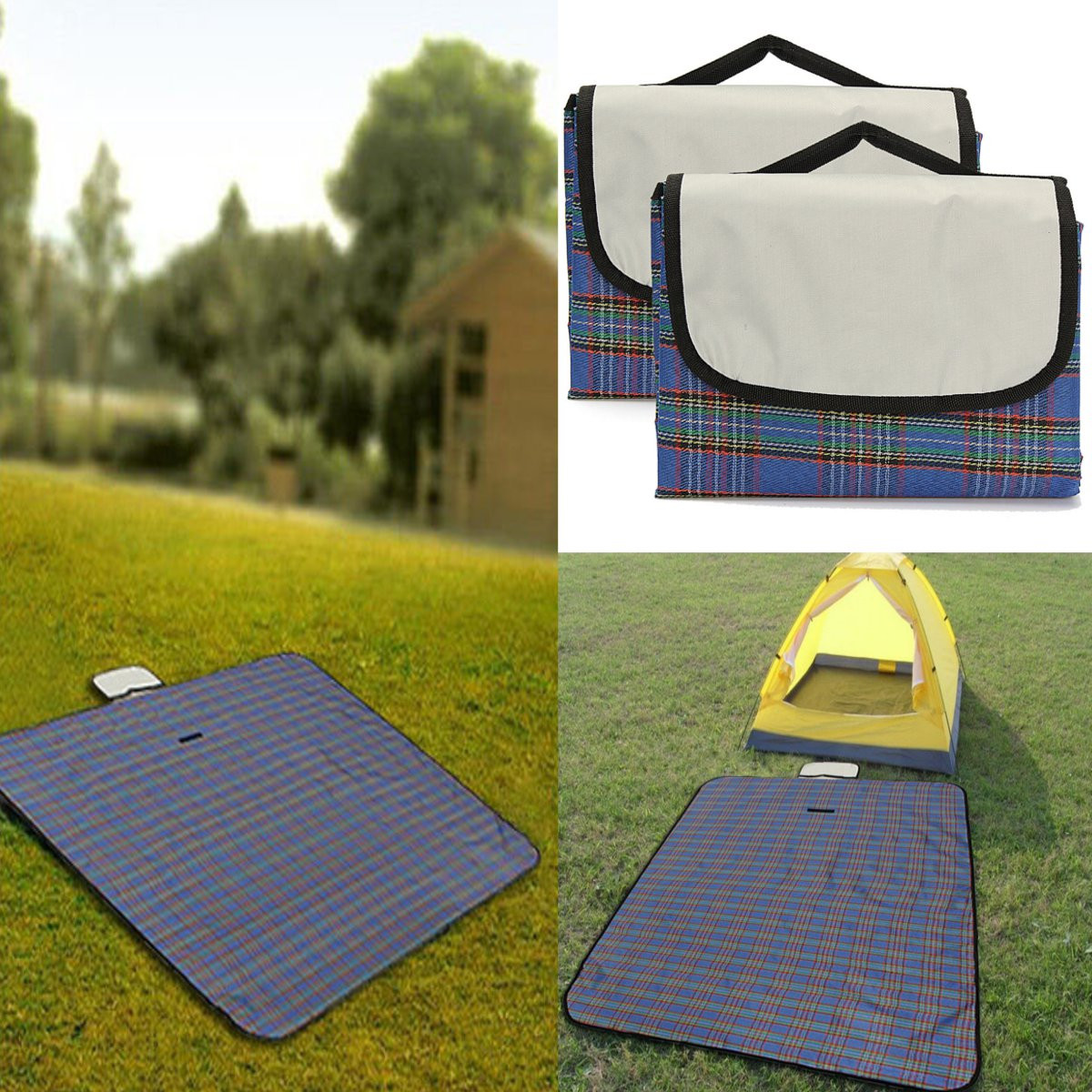 Outdoor Camping Waterproof Picnic Mat Travel Beach Fold