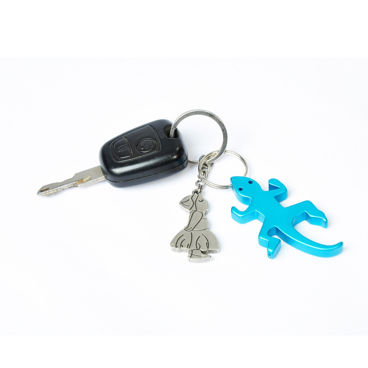 novel gecko bottle opener keychain key ring random color at banggood sold out. Black Bedroom Furniture Sets. Home Design Ideas