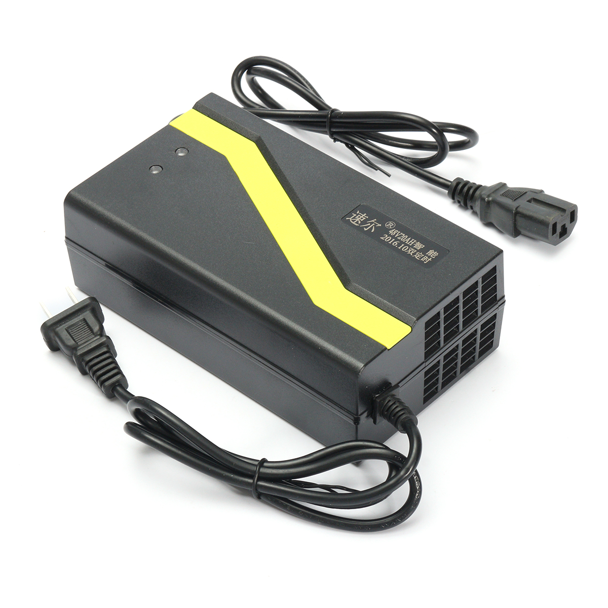 Buy 48V 1.8-5A Li-ion Lead Acid Battery Charger Ebike Scooter Electric Bike Bicycle