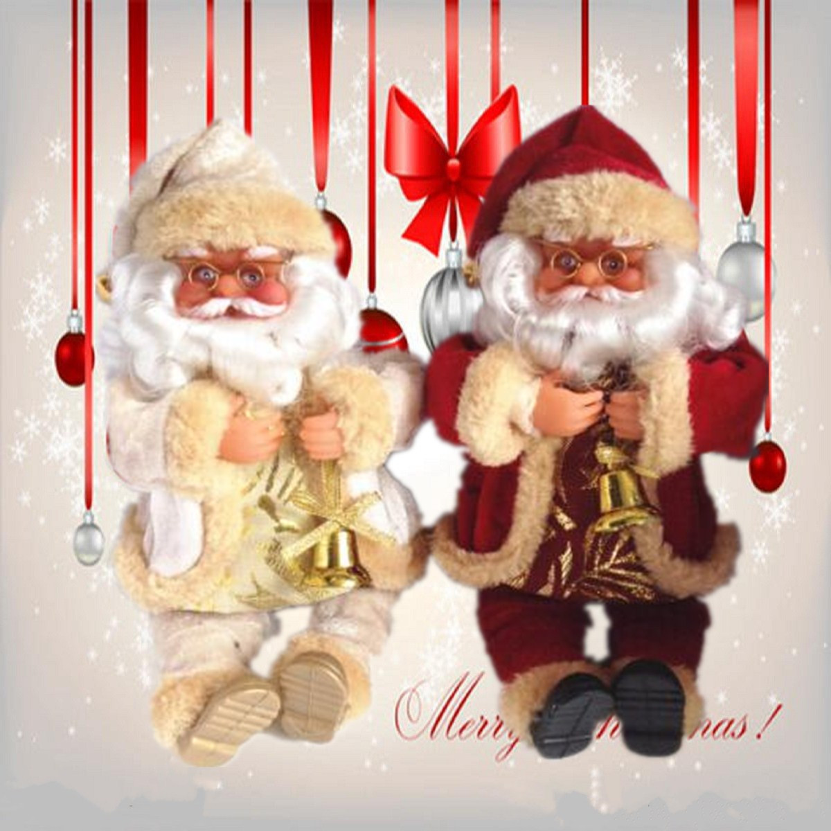 Santa Claus Doll Christmas Decoration Christmas Home Decoration - Photo: 1