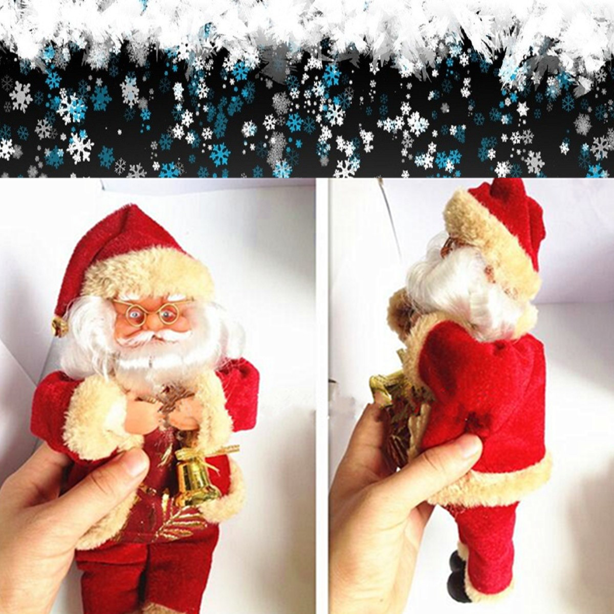 Santa Claus Doll Christmas Decoration Christmas Home Decoration - Photo: 3