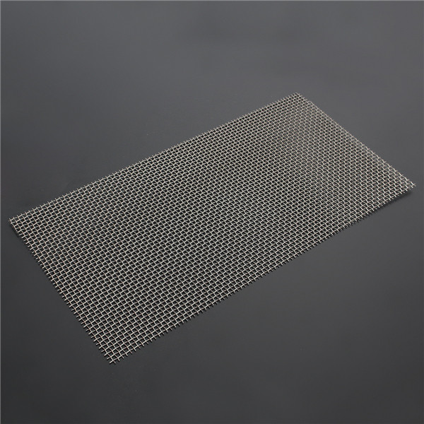 Buy Stainless Steel 30×15cm 8 Mesh Water Oil Industrial Filtration Woven Wire