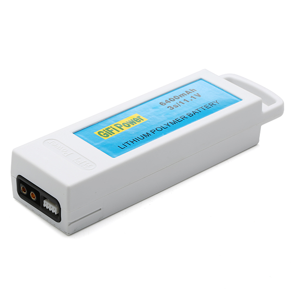 Upgarded 11.1V 6400mAh 3S Lithium Battery For Yuneec Q500 Q500+ RC Quadcopter