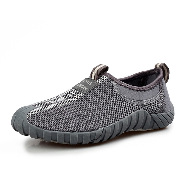 Unisex Sport Shoes Casual Meh Outdoor Flat Breathable Slip On Athletic Shoes
