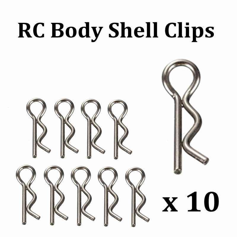 10PCS Large 24mm RC Body Shell Clips Pins For 1/8 1/5 Scale Model Truck Spare Parts