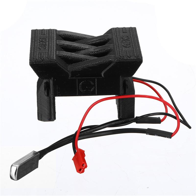 ESC Radiator Cooling Fan Cover Part For 1/10 TRAXXAS TRX-4 TRX4 RC Car Crawler