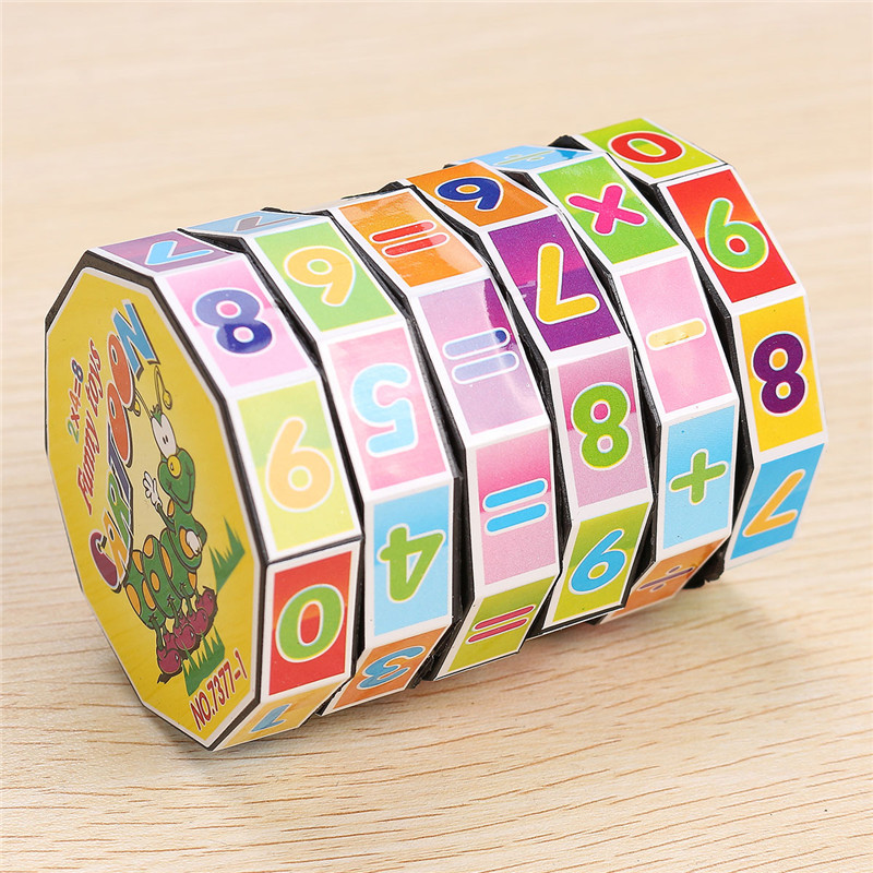 Math Number Puzzle Toys Study Tool For Kids Children ...
