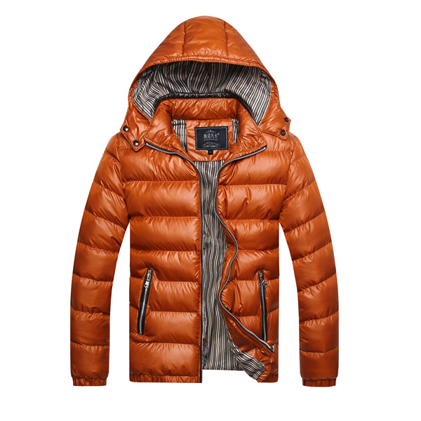 Mens Winter Thick Warm Waterproof Windproof Hood Removable Jackets ...