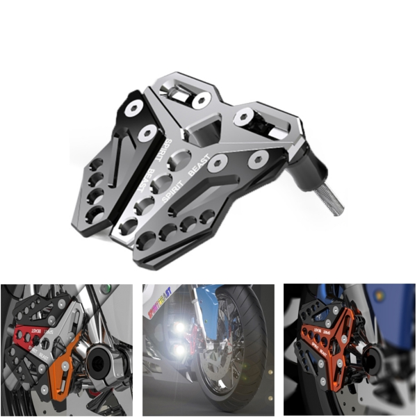 Motorcycle Front Wheel Axle Screw Decorective Cover Disc Brake Pump