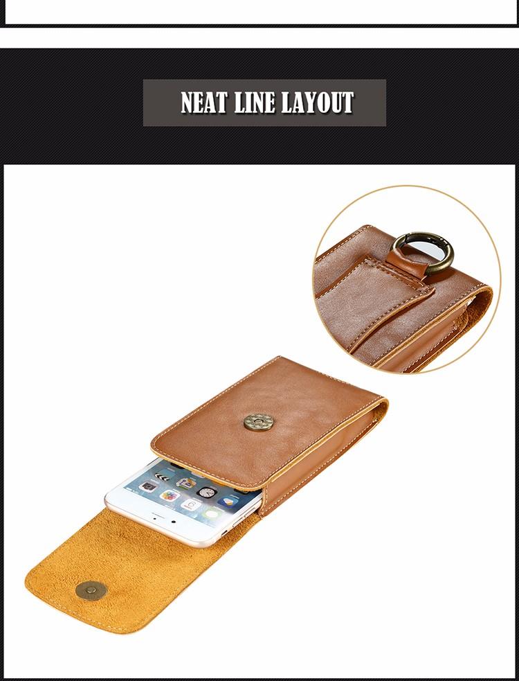 Floveme vertical armazenamento cintura saco bolsa de bolso com fivela para smartphone de 5.5 polegadas