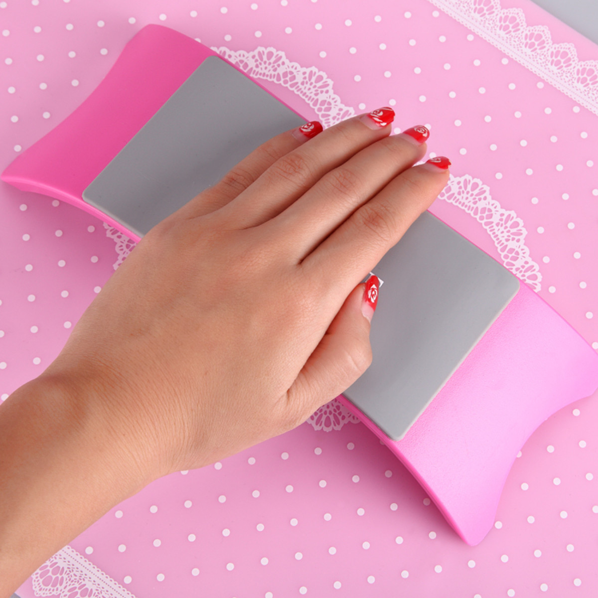 3 Colors Silicone Nail Art Mat Keep Clean Manicure Tools