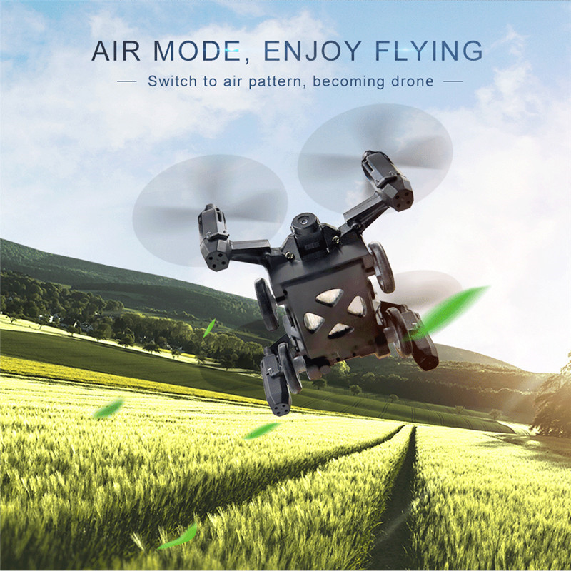Flytec SBEGO 132W 2.4G 4CH Mini Pocket FPV Wifi Flying RC Racing Car 360 Degree Quadcopter Drone