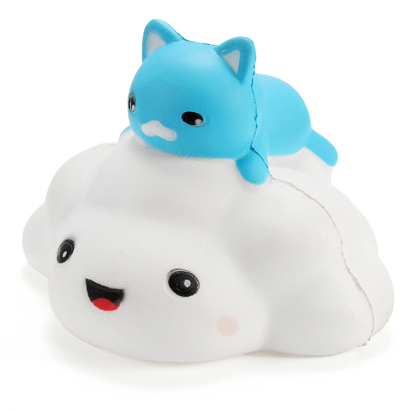 Soft And Squishy Cat Vine : Squishy Cloud Cat 11cm Slow Rising With Packaging Collection Gift Decor Soft Squ eBay