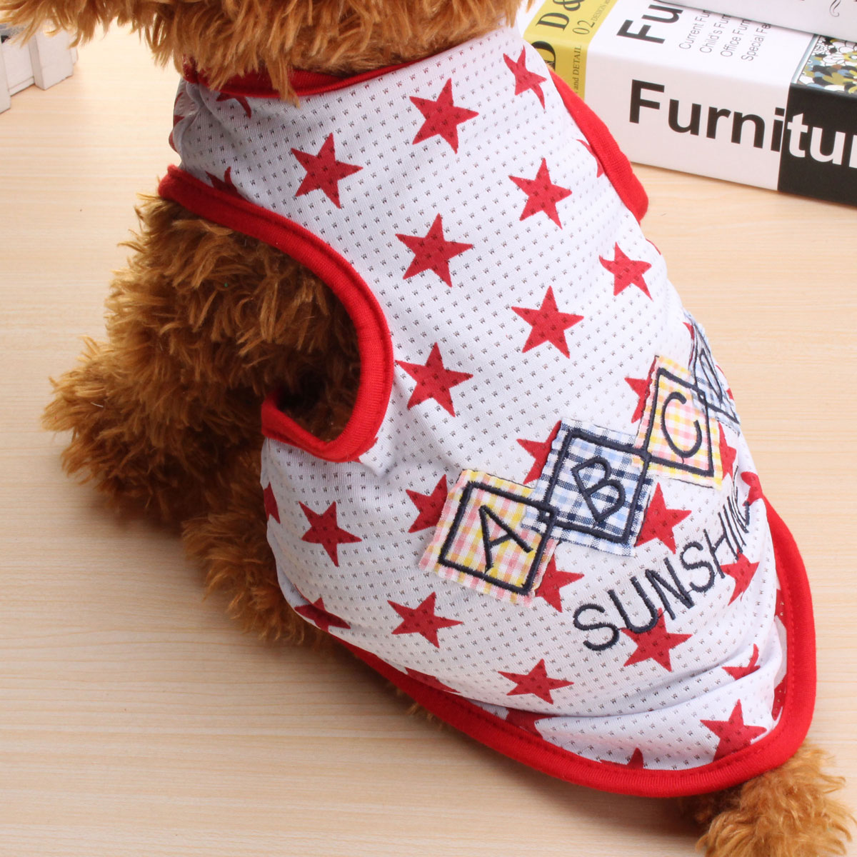 Pet Dog Cat Clothes New Spring Summer Vest Puppy T-Shirt