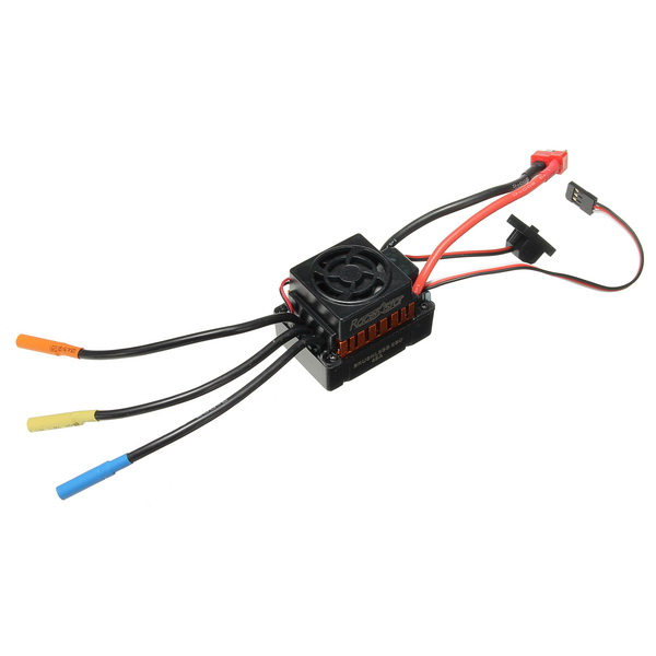 Racerstar 45A ESC Brushless Waterproof Sensorless With Fan 1/10 RC Car Part